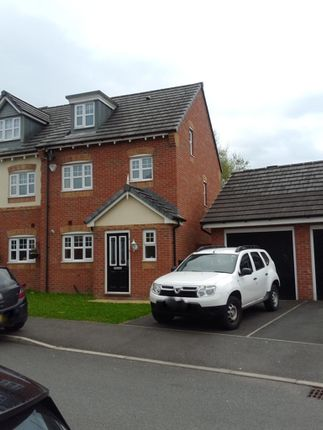 Thumbnail Semi-detached house to rent in Appleton Grove, Wigan