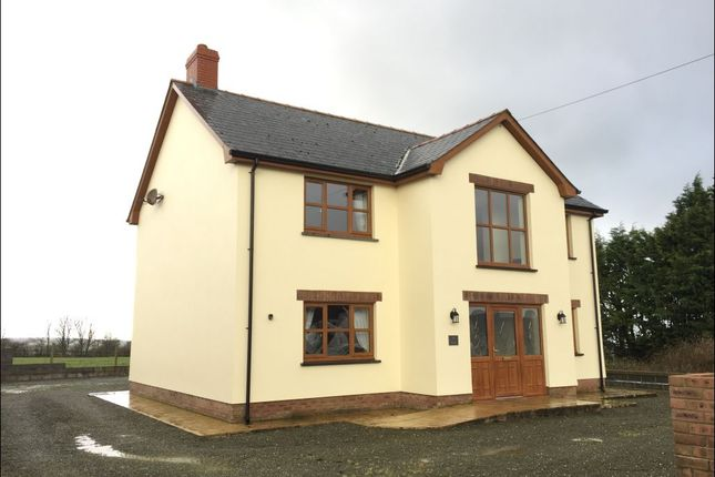 Thumbnail Detached house to rent in Pentre'r Bryn, New Quay