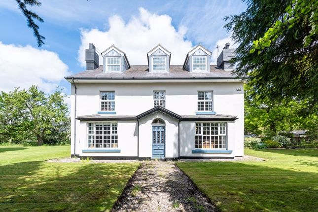 Thumbnail Detached house for sale in Old Manor House, Hale Bank, Higher Road