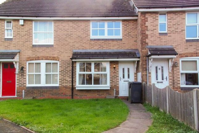 Thumbnail Terraced house to rent in Scaife Road, Aston Fields, Bromsgrove