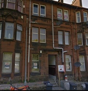 Thumbnail Flat to rent in Newton Terrace, Paisley