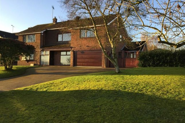 Thumbnail Detached house for sale in Moisty Lane, Marchington, Uttoxeter, Staffordshire