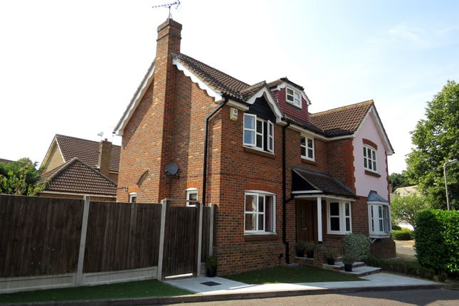 Thumbnail Detached house for sale in Ashdon Close, Hutton, Brentwood