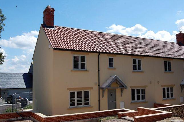 Thumbnail Semi-detached house for sale in Kingsdon, Somerton
