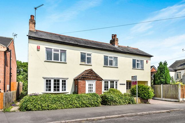 Thumbnail Detached house for sale in Vicarage Road, Mickleover, Derby