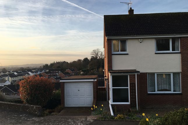 Thumbnail Semi-detached house to rent in Truro Drive, Exeter