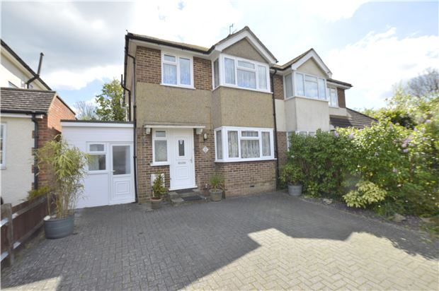 Thumbnail Semi-detached house for sale in Shirley Avenue, Redhill