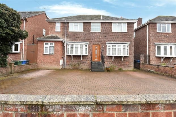 Thumbnail Detached house for sale in Gloucester Drive, Staines-Upon-Thames, Surrey