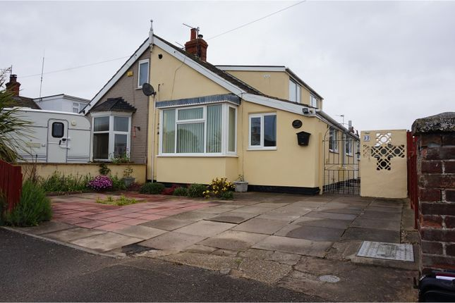 Thumbnail Semi-detached house for sale in Regent Road, Mablethorpe