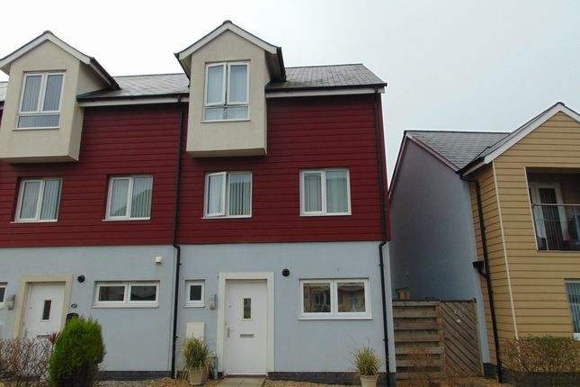 Thumbnail Town house for sale in Bwlchygwynt, Machynys, Llanelli