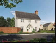 Thumbnail Detached house for sale in Ipswich Road, Needham Market