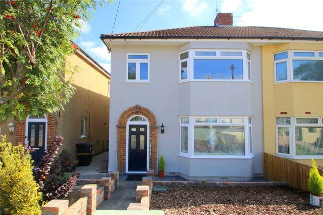 Thumbnail Semi-detached house to rent in Ridgeway Lane, Whitchurch, Bristol