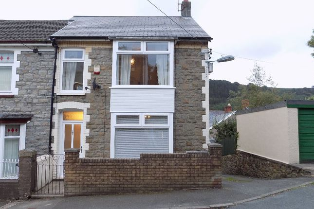 Thumbnail Terraced house for sale in Grosvenor Road, Abertillery