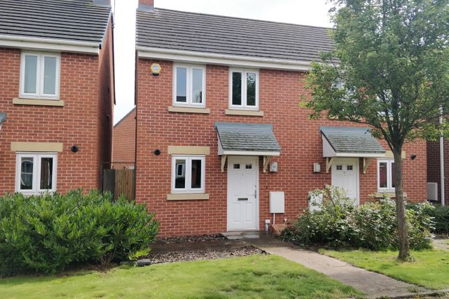 Thumbnail Terraced house to rent in Oaken Hurst Avenue, Hawksyard, Rugeley