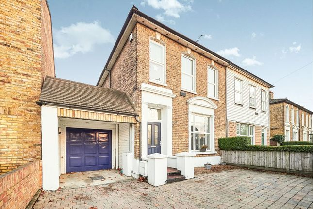 Thumbnail Semi-detached house for sale in Stanwell Road, Ashford