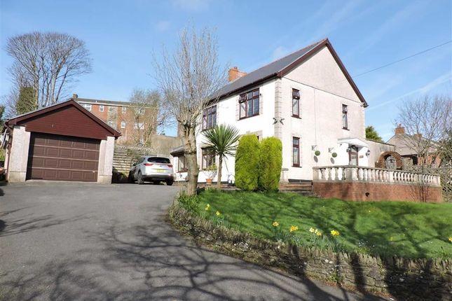 Thumbnail Detached house for sale in Llangyfelach Road, Brynhyfryd, Swansea