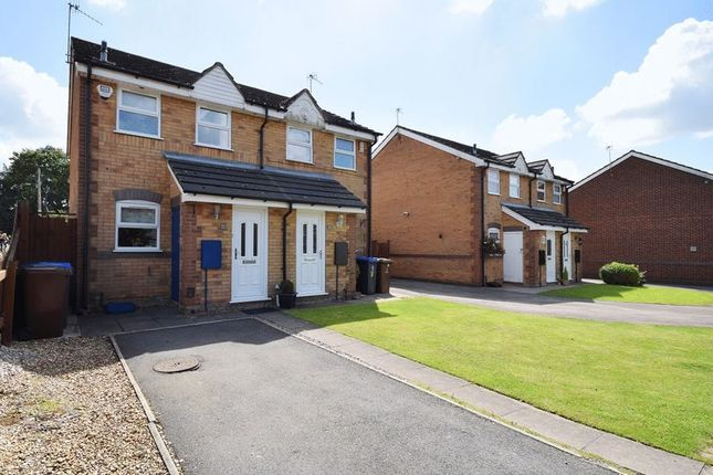Thumbnail Semi-detached house for sale in Irvine Road, Werrington, Stoke-On-Trent
