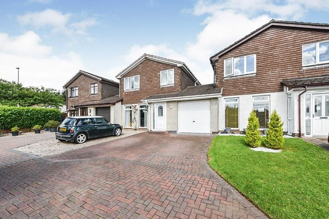 Thumbnail Link-detached house for sale in Braid Green, Livingston, West Lothian