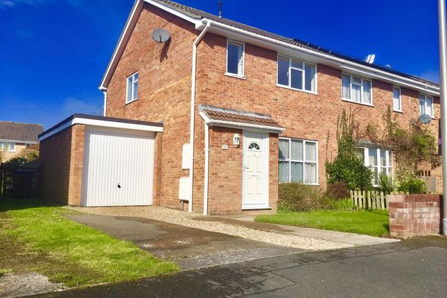 Thumbnail Semi-detached house to rent in Fairview, Worle, Weston-Super-Mare