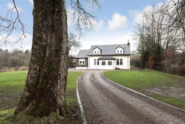 Thumbnail Detached house for sale in Uplawmoor Road, Neilston, East Renfrewshire, .