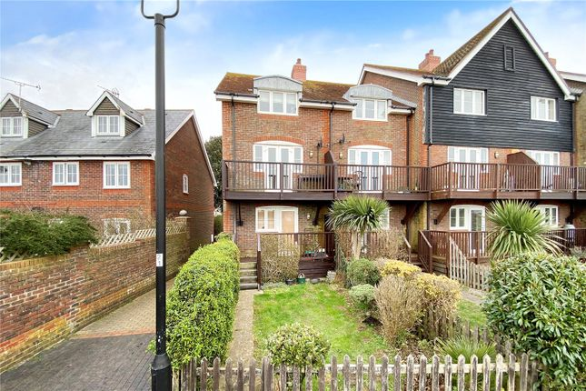 Thumbnail End terrace house for sale in Mariners Quay, Littlehampton