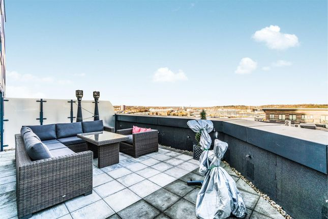 Thumbnail Flat for sale in The Hawkins Tower, Ocean Way, Southampton