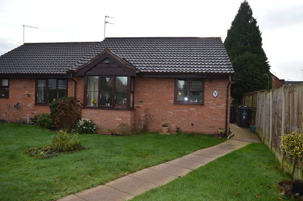 Thumbnail Bungalow for sale in Goosefield Close, Market Drayton
