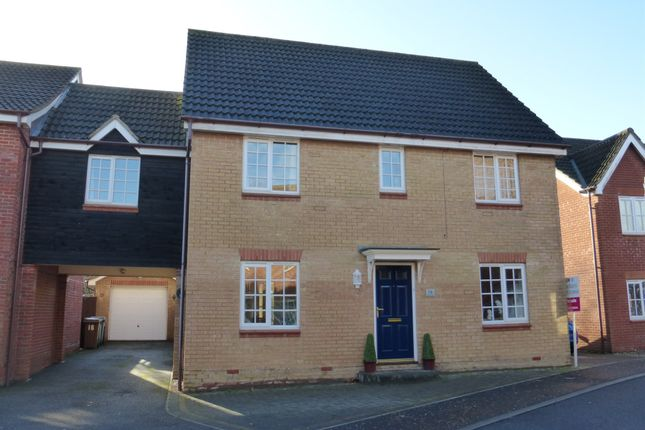Thumbnail Link-detached house for sale in Cornet Close, Thorpe St. Andrew, Norwich