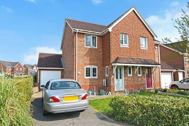 Thumbnail Semi-detached house for sale in Harrow Way, Kingsnorth, Ashford