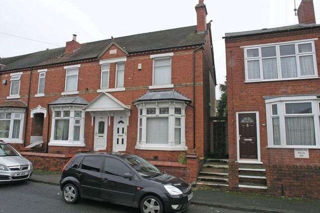 Thumbnail End terrace house for sale in Stourbridge, Lye, Valley Road