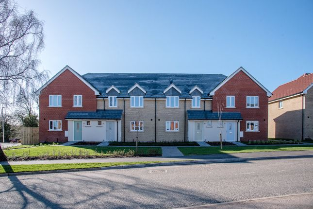 Thumbnail Terraced house for sale in Carr Avenue, Leiston, Suffolk