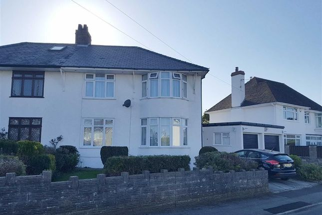 Thumbnail Semi-detached house for sale in Min Y Mor, Garden Suburb, Barry