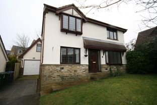 Thumbnail Detached house to rent in Heatherside, Baildon