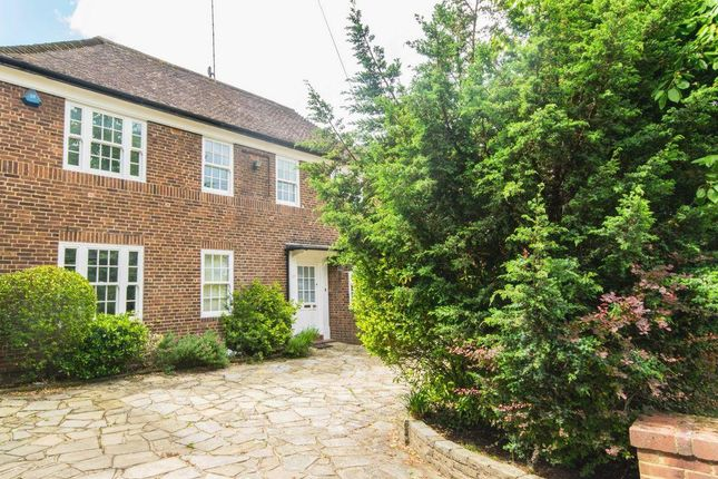 Thumbnail Terraced house to rent in West Heath Close, Hampstead
