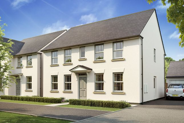 "Thumbnail Detached house for sale in ""Chelworth"" at West Yelland, Barnstaple"