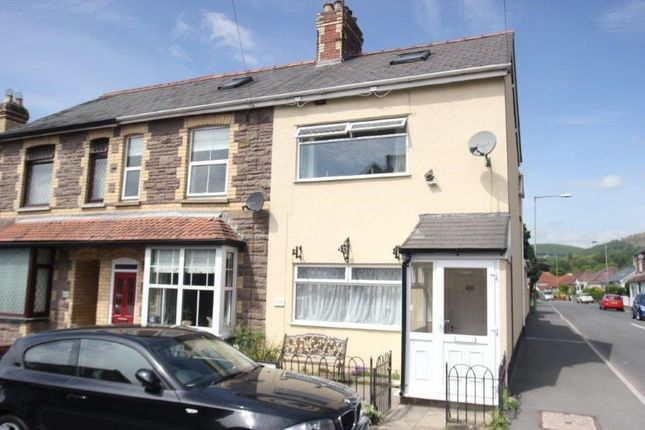 Thumbnail End terrace house for sale in Springfield Road, Abergavenny