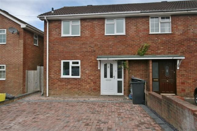 Thumbnail Semi-detached house to rent in Loveridge Close, Basingstoke