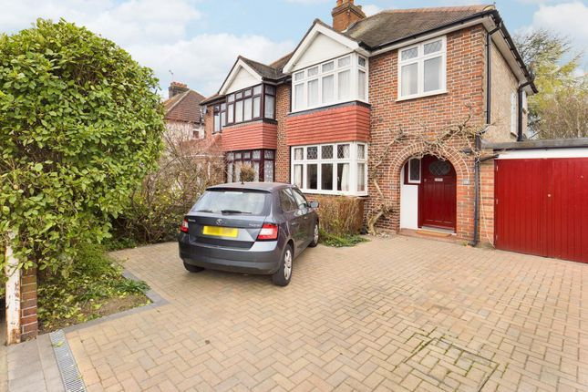 Thumbnail Semi-detached house for sale in Boundaries Road, Feltham, Greater London