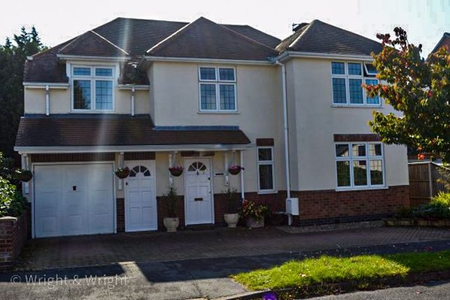 Thumbnail Detached house for sale in Boyslade Road East, Burbage, Hinckley