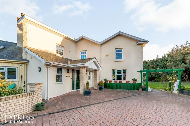Thumbnail Detached house for sale in Bryn Lane, Newtown, Powys