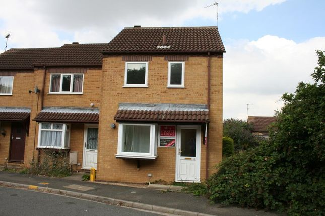 Thumbnail End terrace house to rent in Summerfield Drive, Sleaford
