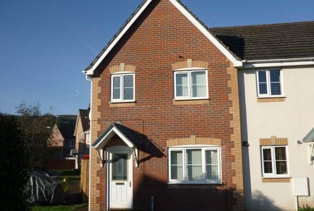 Thumbnail Property to rent in Hollyhock Close, Afon Village, Rogerstone