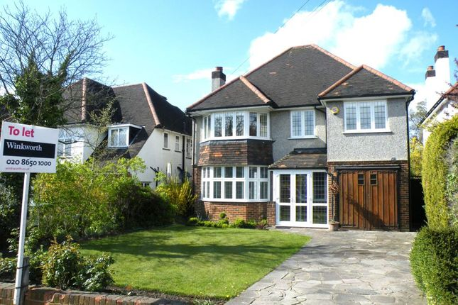 Thumbnail Detached house to rent in Tootswood Road, Bromley, Kent