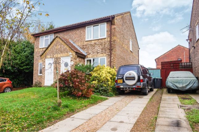 Thumbnail Semi-detached house for sale in Willowmead, West Malling