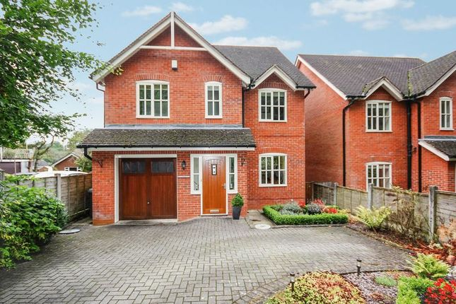 Thumbnail Detached house for sale in Chestnut Lodge, Lake Road, Leek
