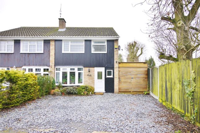 Thumbnail Semi-detached house for sale in Priory Mead, Doddinghurst, Brentwood, Essex