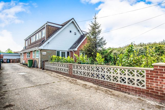 Thumbnail Detached bungalow for sale in Stepshort, Burgh Castle, Great Yarmouth