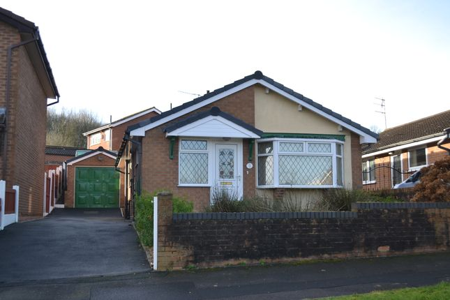 Thumbnail Detached bungalow for sale in Park Road, Silverdale, Newcastle-Under-Lyme