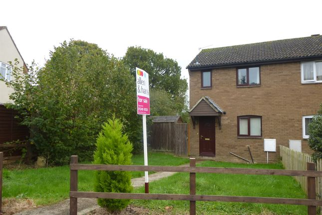 Thumbnail End terrace house for sale in Buckingham Road, Pewsham, Chippenham