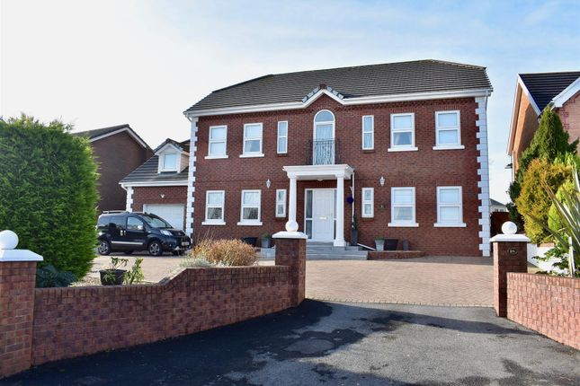 Thumbnail Detached house for sale in Black Lion Road, Capel Hendre, Ammanford